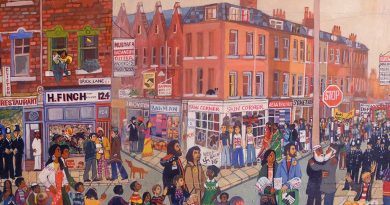 Painting of Brick Lane by Dan Jones