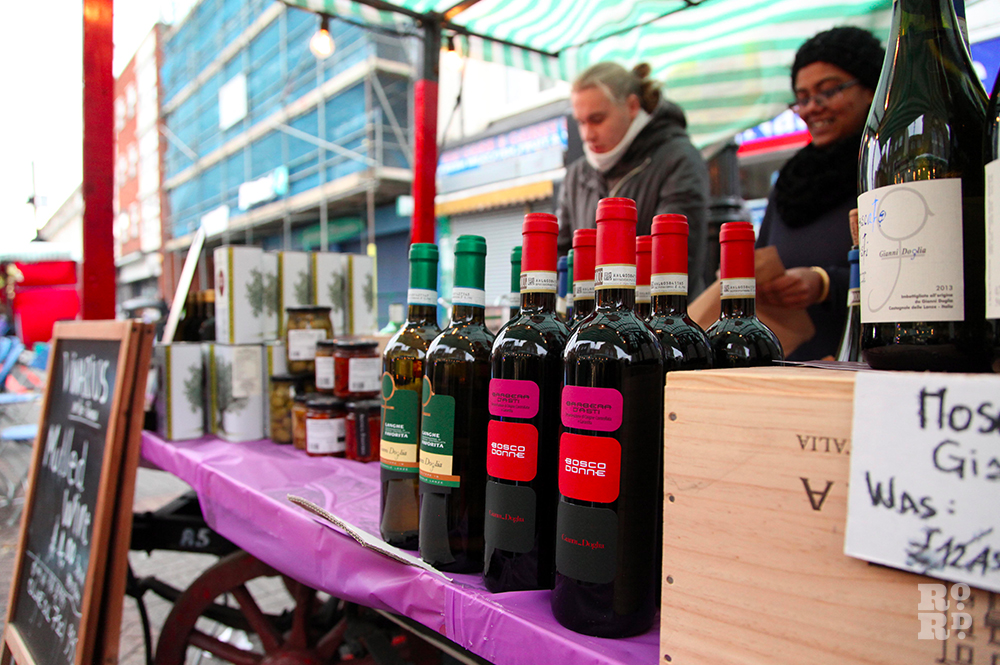 Street stall selling mulled wine