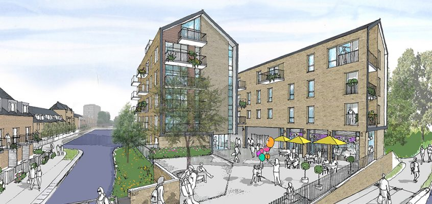 Residential housing developments in Bow