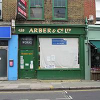 Arber & Co historic shopfront