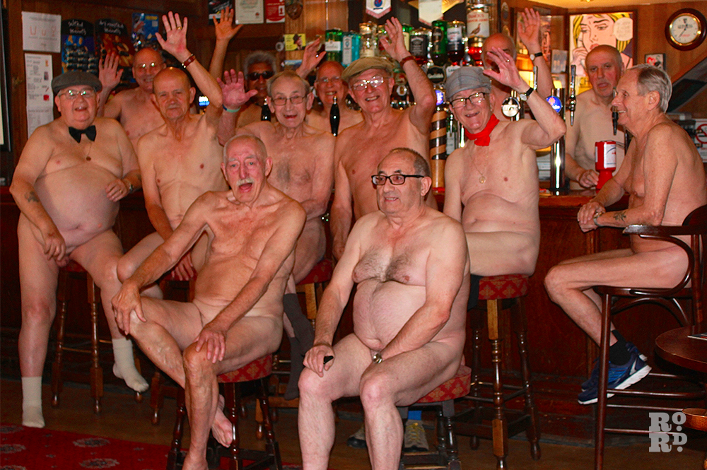 Question Completely Naked men groups really. All