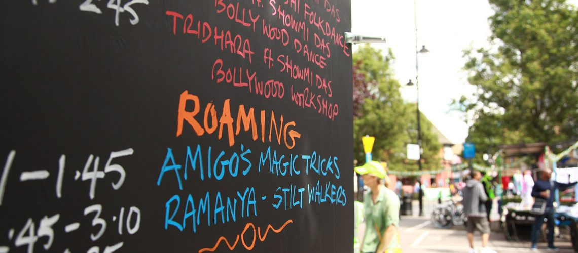 Roman Road Festival Eid Party lineup of entertainment