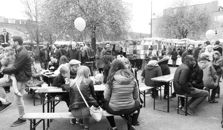 Roman Road Yard Market launch event