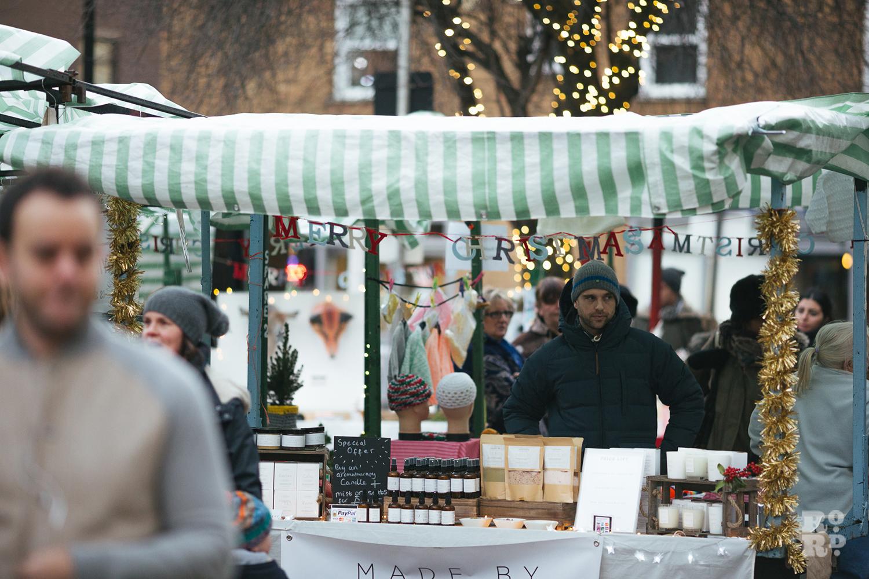 Winter Market at Roman Road Christmas Fair 2016 © Roman Koblov