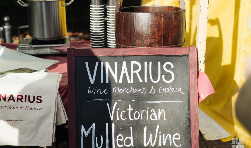 Victorian Mulled Wine at Roman Road Christmas Fair 2016