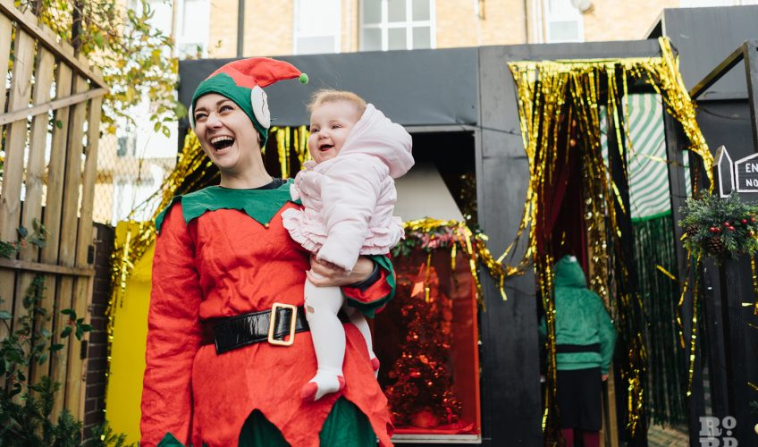 All smiles at Roman Road Christmas Fair 2016 © Roman Koblov