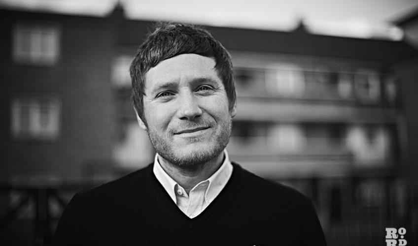 Self portrait - Andrew Leo - stood outside in Es2