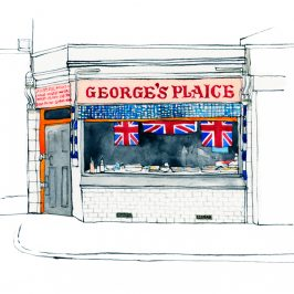 Illustration of George's Plaice
