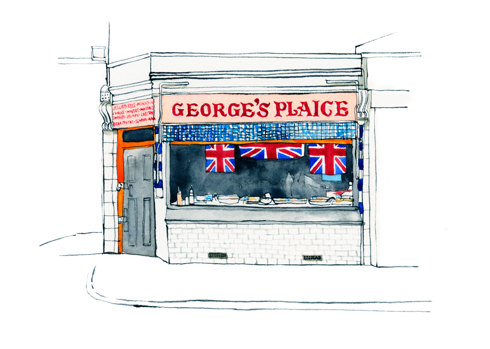 Illustration of George's Plaice