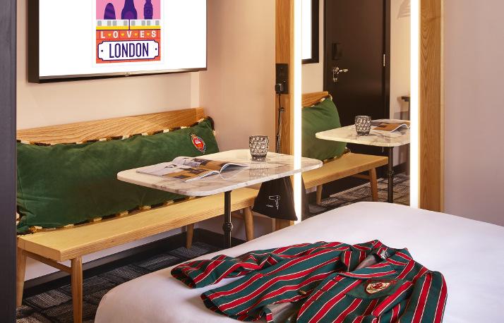 Mama london hotel room