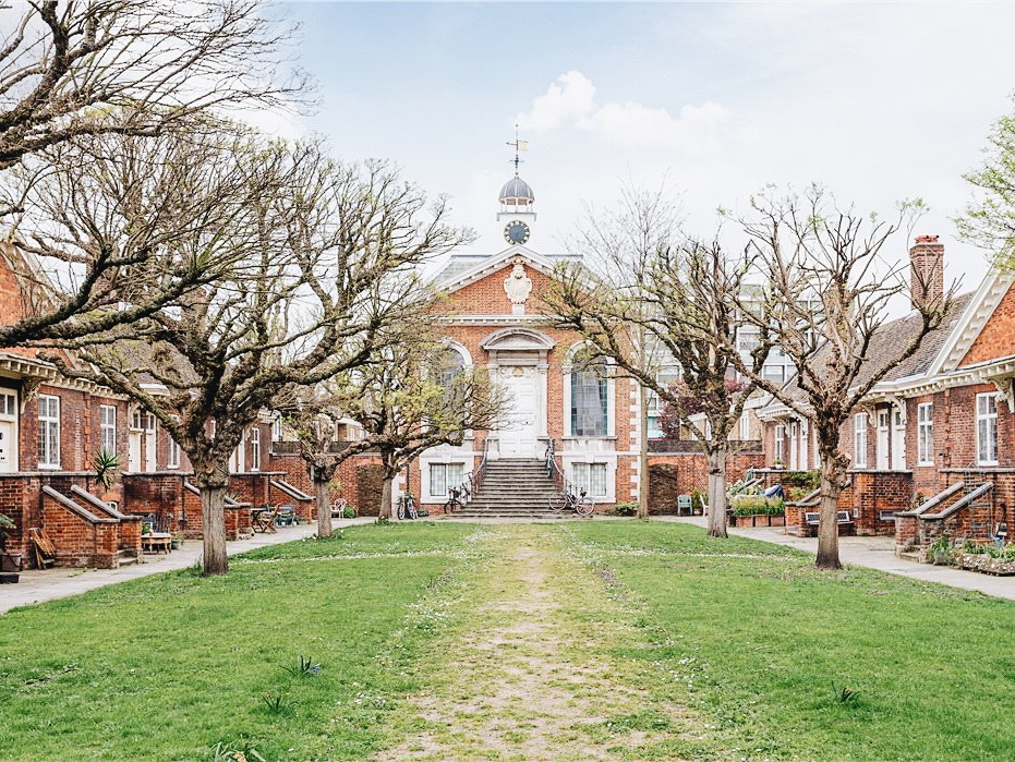 Trinity Green Almshouses in Stepney Green