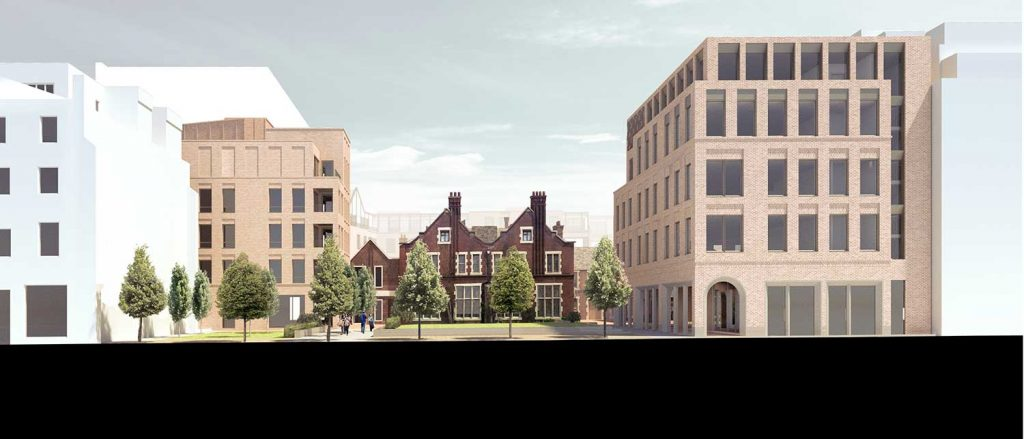 Plans for the redeveloped Toynbee Hall in 2019