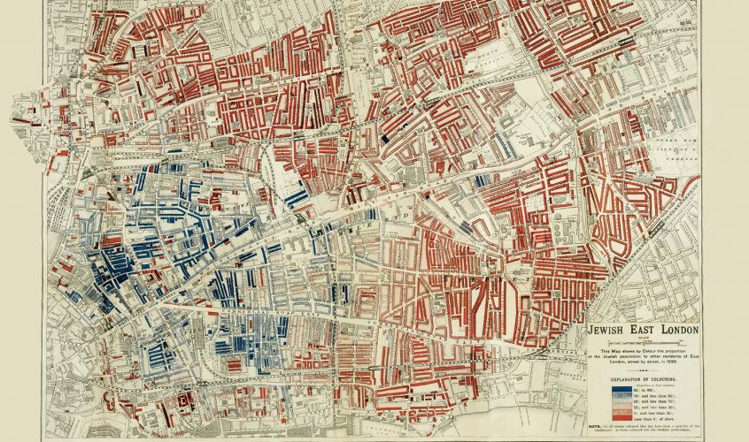 Old maps of Roman Road, Bow, Globe Town and Mile End [GALLERY]