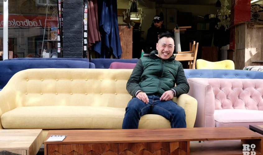 Lofty's furniture shop catapulted into fame with BBC show