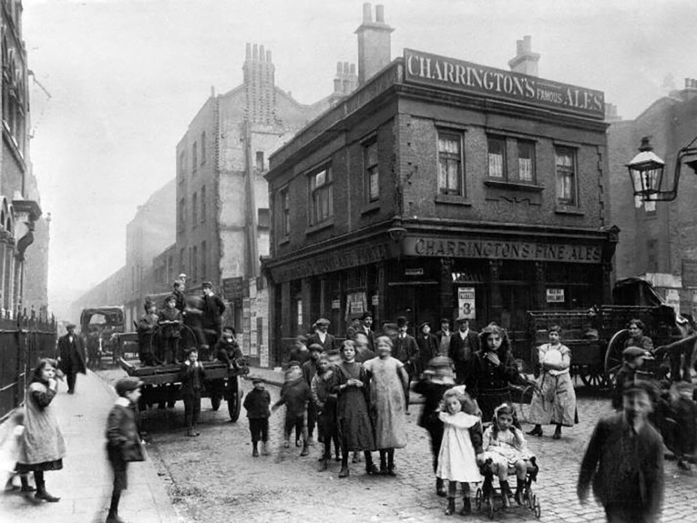Victorian era pub in the East End