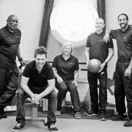 The team at Ability Bow, Roman Road, accessible gym for people with disabilities