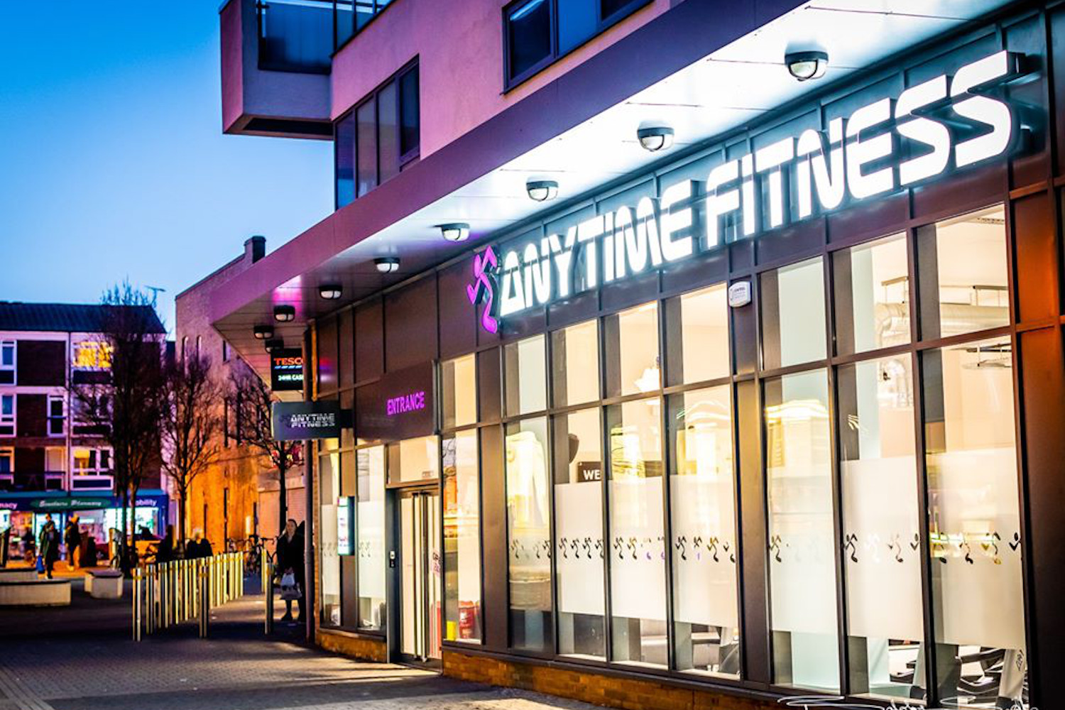 Anytime fitness gym in Bow
