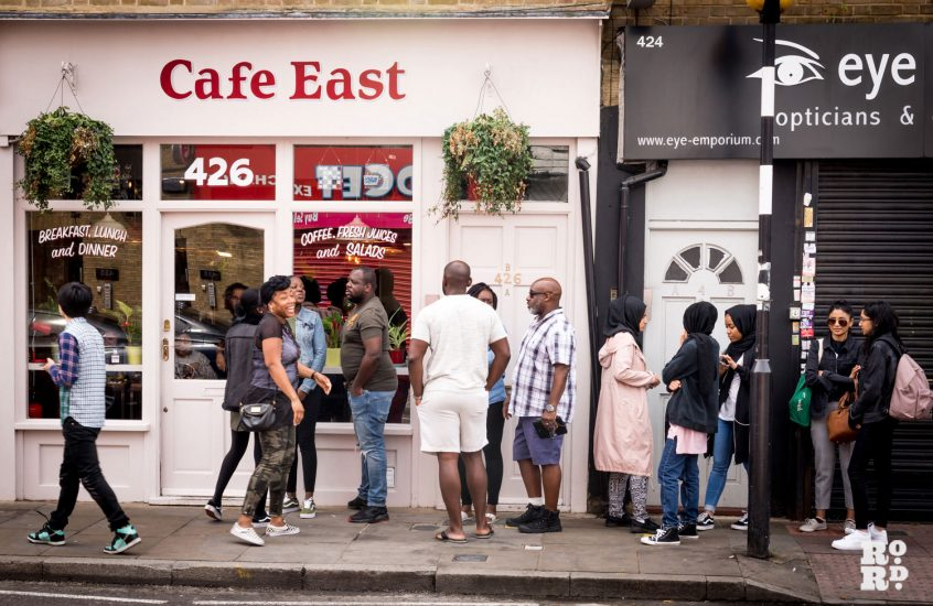 Why everyone is queuing to eat at Cafe East