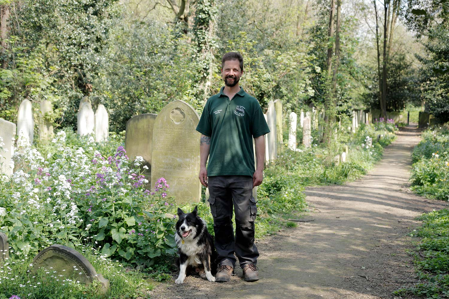 Ken and Quinn Tower Hamlets Cemetery Park