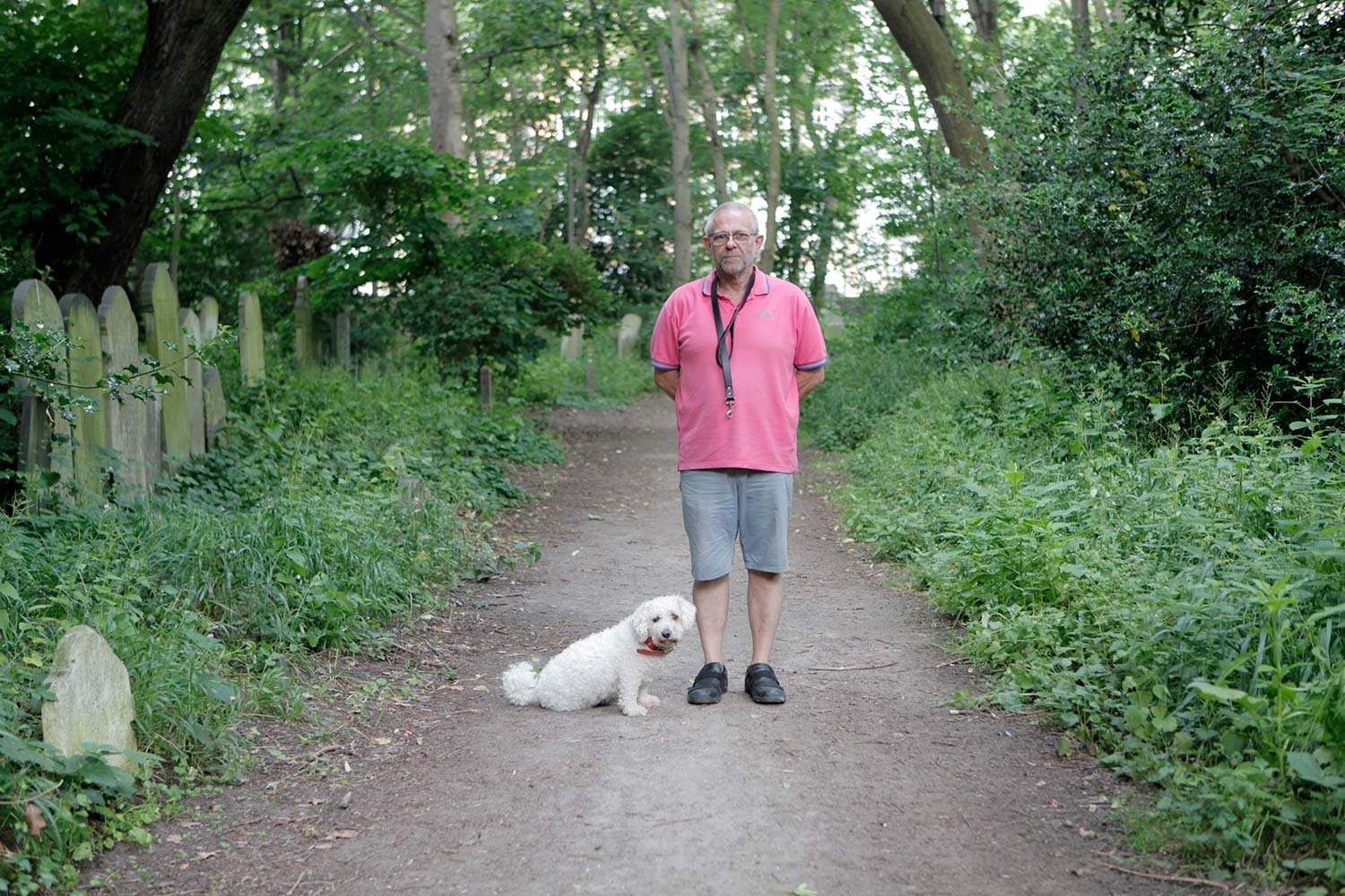 Mark and Casper Tower Hamlets Cemetery Park