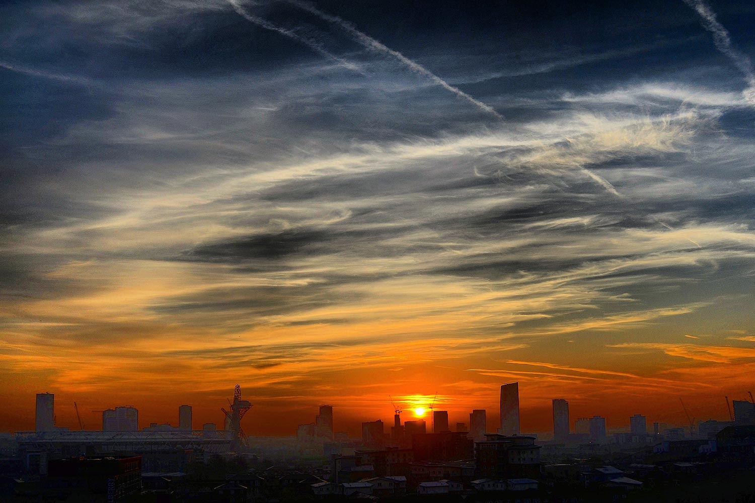 Photograph of Sunrise over Stratford