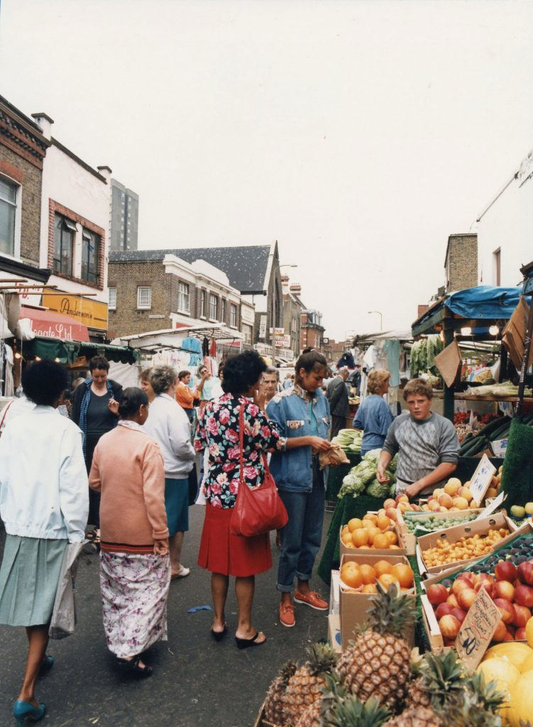 Roman Road Market Fruit Stall