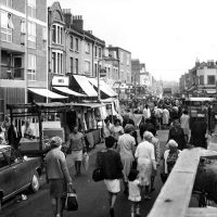Roman Road Market archive image 1960s