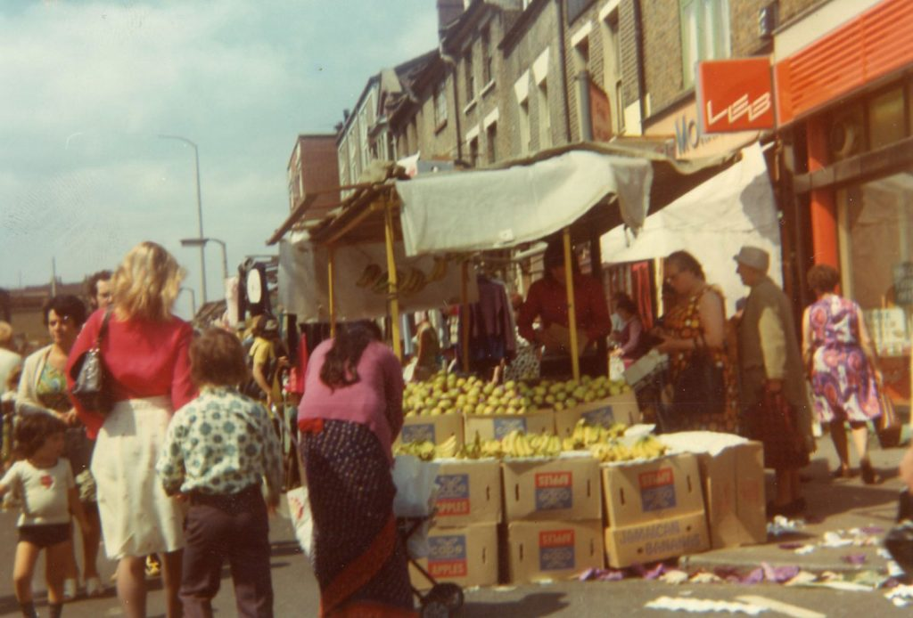 Roman Road Market fruit