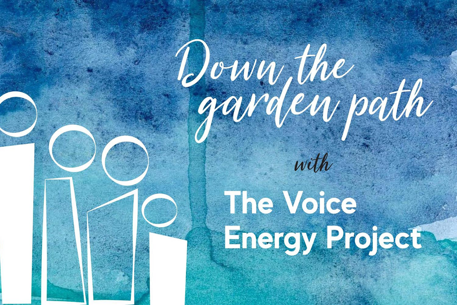 Flyer for 'Down the garden path' project at St Margaret's House, East London