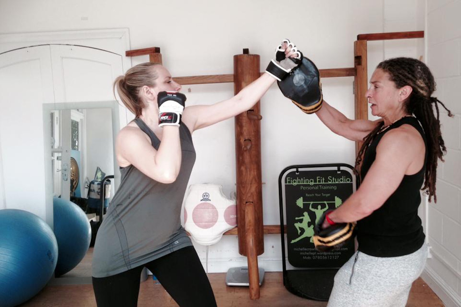 Fighting fit studio personal trainer in Bow