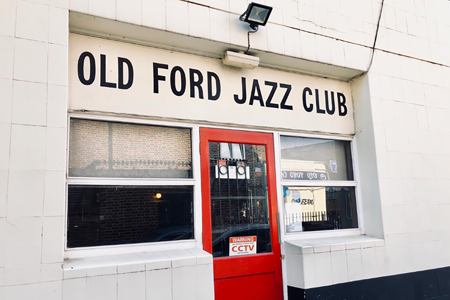 Old ford jazz club in Mile End