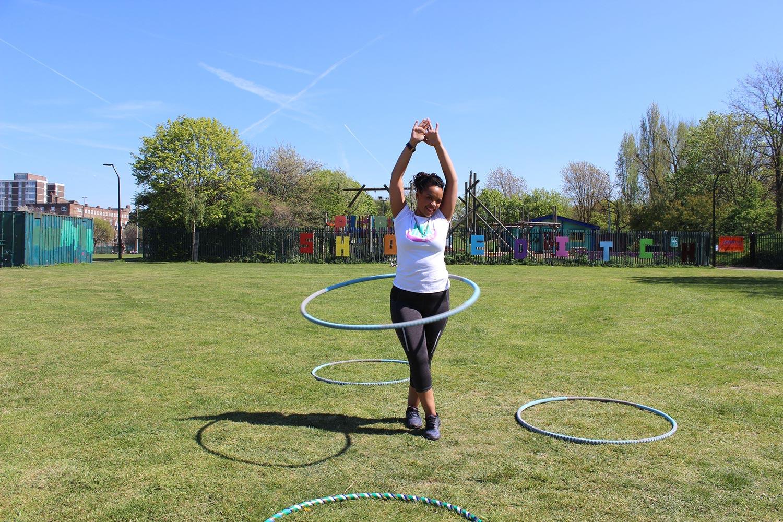 Olympic Park London Hackney Bow Shakira Hula Fit