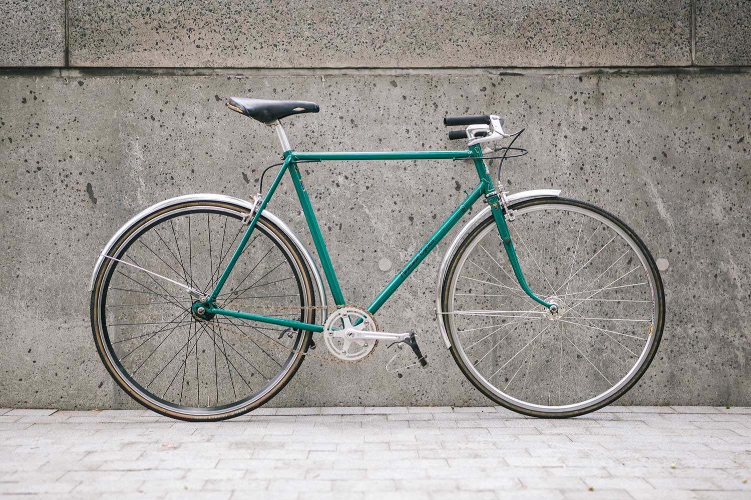 paradise cycles single speed bicycle roman road