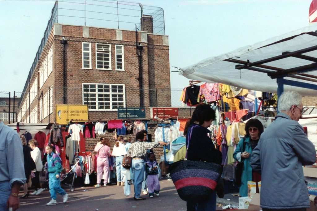 Roman Road Market in 1990