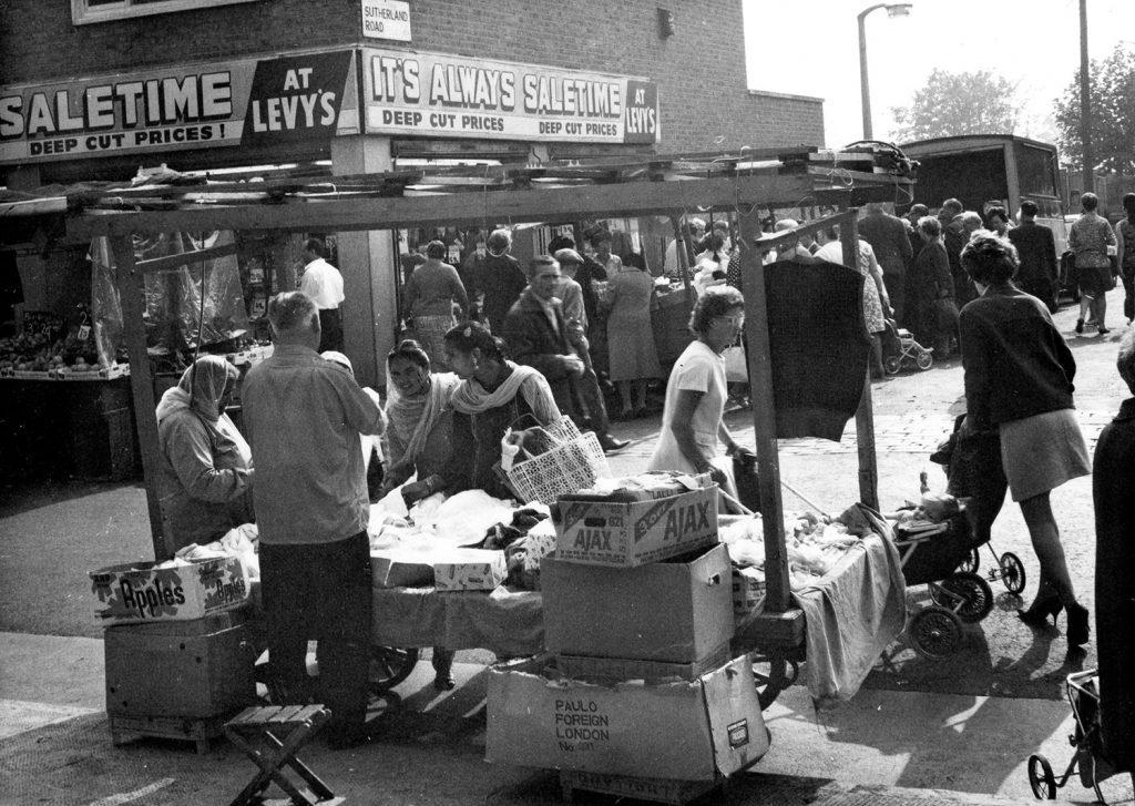 Roman Road Market 1960s