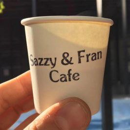Sazzy and Fran cafe