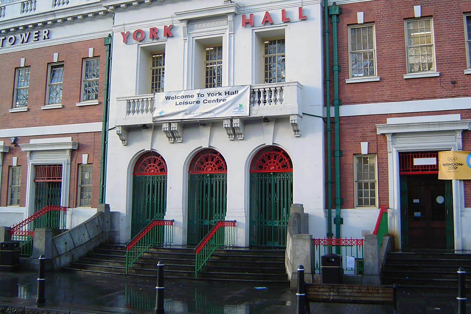 Photograph of York Hall Spa exterior