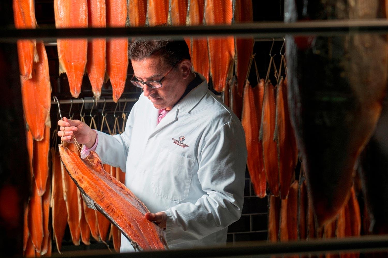 lance forman smokery salmon fish isalnd