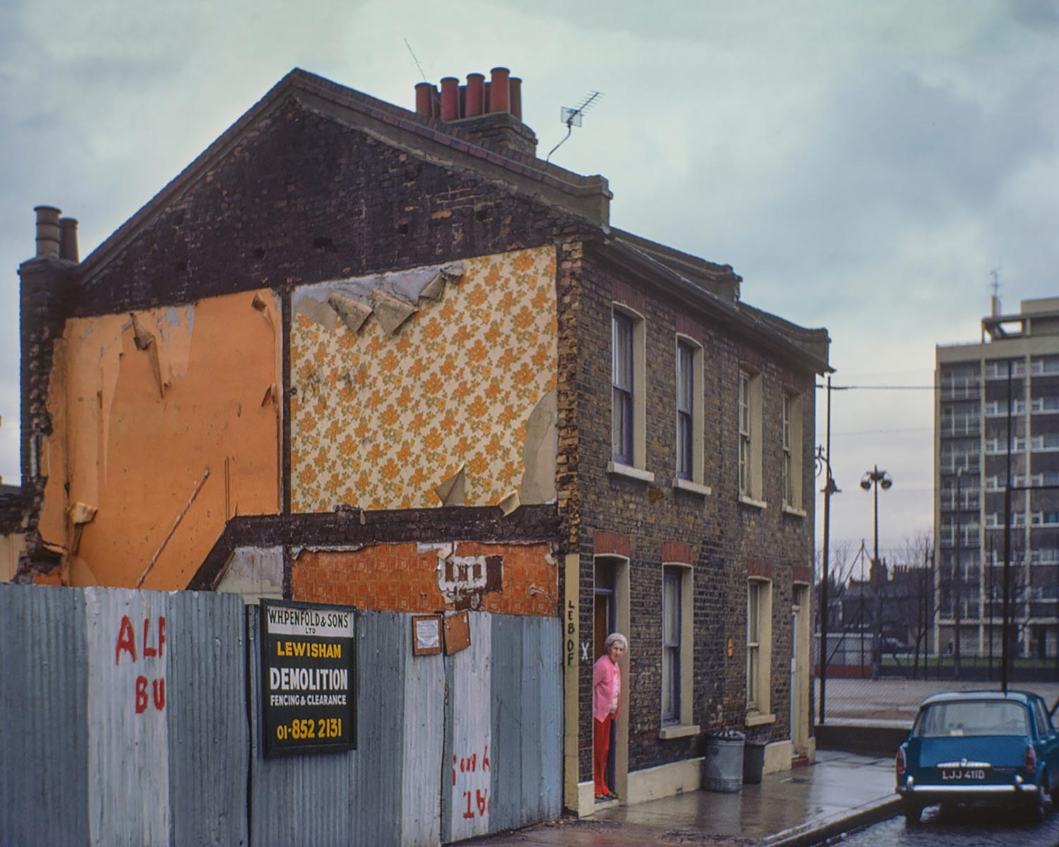 David Granick photograph of Belhaven Street