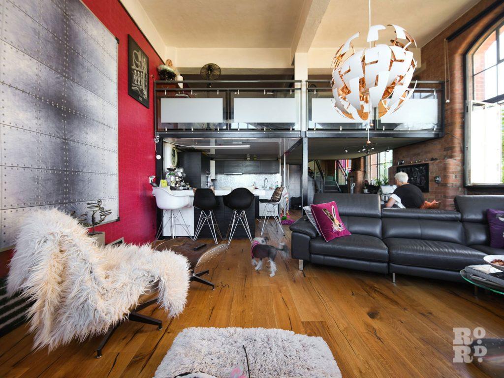 Bow Quarter Interior 6 modern NYC style loft