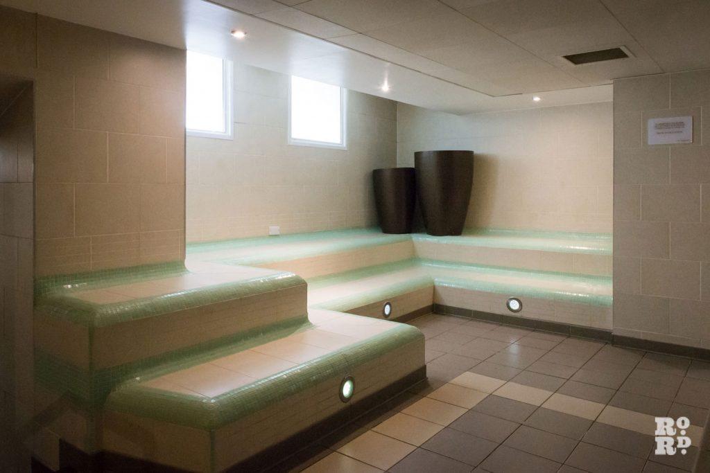York Hall spa Turkish baths