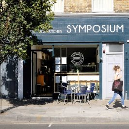 Symposium Italian deli and cafe on Roman Road