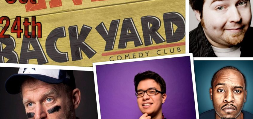 Choose Laughs comedy fundraiser night at Backyard Comedy Club