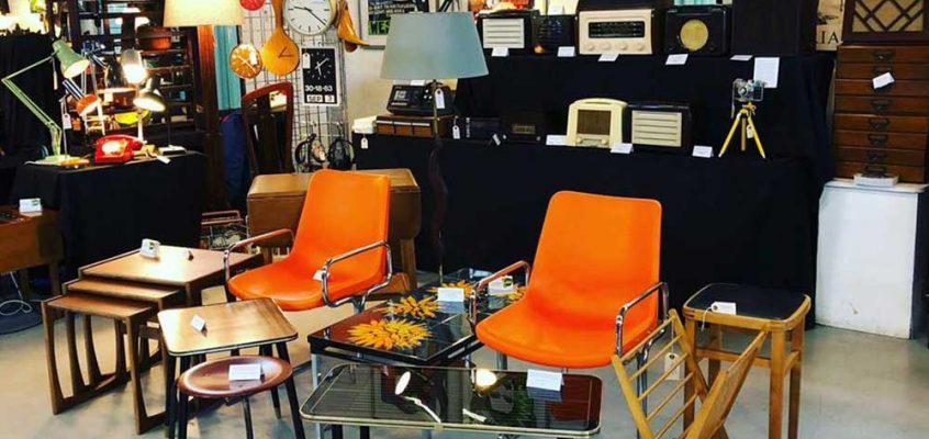 The East London Vintage Furniture Flea in York Hall