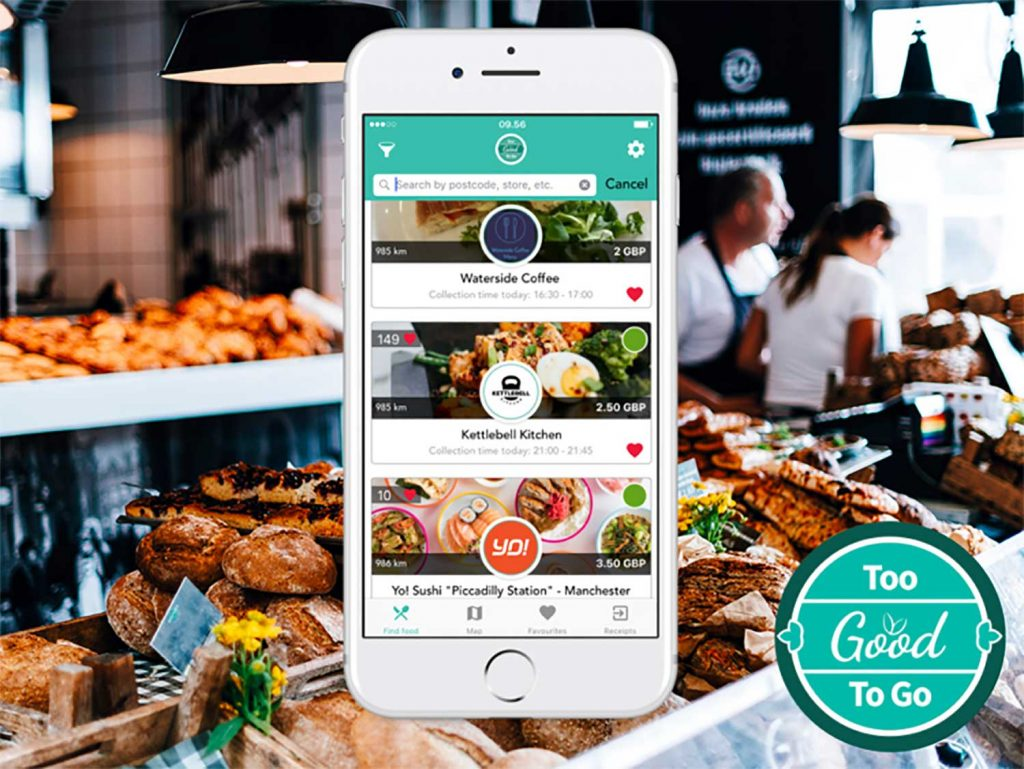 Too Good To Go tackling food waste app