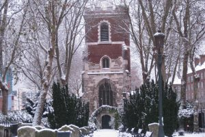 Bow Church in winter