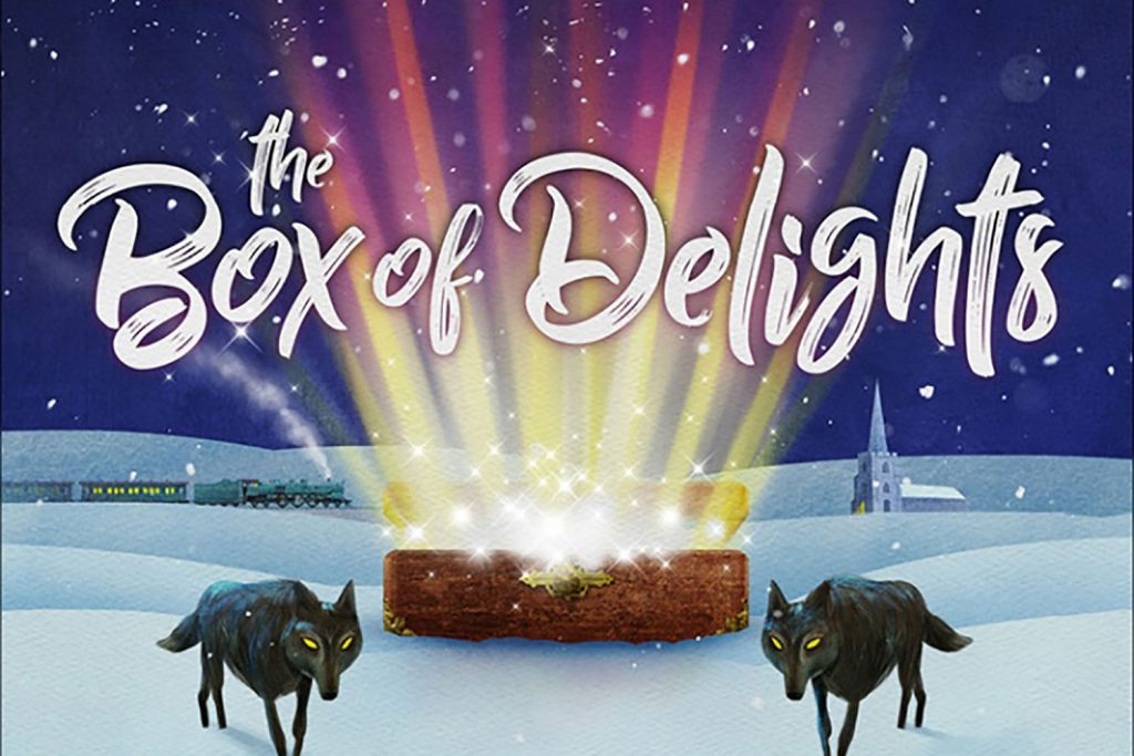 Box of Delights poster showing at Wilton's Music Hall