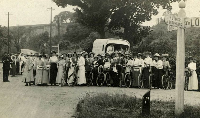 Sylvia Pankhurst and Cycling for Suffrage