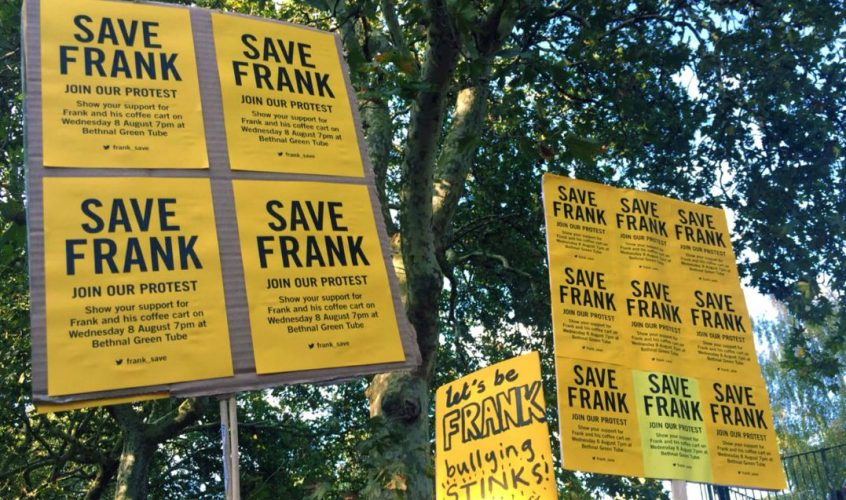 Frank Wang's last stand – support independent coffee in Bethnal Green