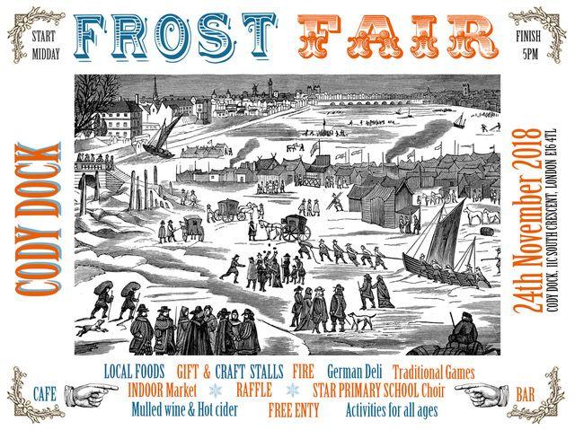 frost fair poster